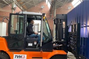 cargo bar noord -container vervoeren